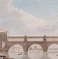 Proposed Design For A Bridge by Thomas Sandby