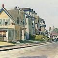 Prospect Street by Edward Hopper