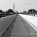 Prosser Bridge Perspective - Black And White by Carol Groenen