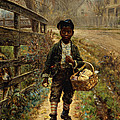 Protecting The Groceries by Edward Lamson Henry