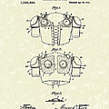 Protective Gear 1914 Patent Art by Prior Art Design