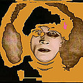 Proto Film Noir Conrad Veidt Cabinet Of Dr. Caligari 1919 Collage Screen Capture 2012 by David Lee Guss