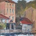 Provence Village Stream by Karla Bartholomew