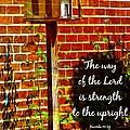 Proverbs 10 29 by Michelle Greene Wheeler