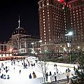 Providence On A Cold December Evening by Alex Grichenko