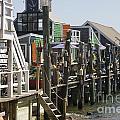 Provincetown Docks by Deborah Talbot - Kostisin