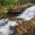 Provo River Falls by Gina Herbert