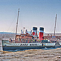 Ps Waverley Approaching Penarth by Steve Purnell