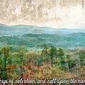 Psalm 116 13 by Michelle Greene Wheeler