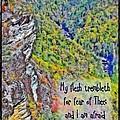 Psalm 119 110 by Michelle Greene Wheeler