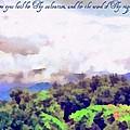 Psalm 119 123 by Michelle Greene Wheeler