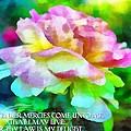 Psalm 119 77 by Michelle Greene Wheeler