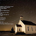 Psalm 23 Night Photography Star Trails by Mark Duffy