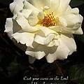 Psalm 55 22 by Sara  Raber