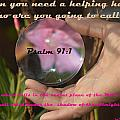Psalm 91 by Leticia Latocki