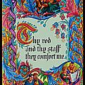 Psalms 23-4b by Tikvah's Hope