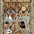 Psalter Of Saint Louis 13th C.. Abraham by Everett
