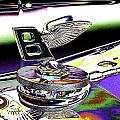 Psychedelic Bentley Mascot 2 by Peter Lloyd