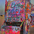 Psychedelic Cadillac by Kathleen Scanlan