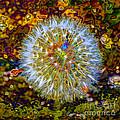 Psychedelic Dandelion by P Donovan