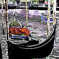 Psychedelic Gondola Venice by Peter Lloyd