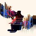 psychedelic Love by Panda Gunda