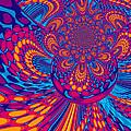Psychedelic Mind Trip by Absinthe Art By Michelle LeAnn Scott