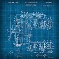 Pt Farnsworth Television Patent Blueprint 1930 by Design Turnpike