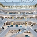 Public Library Stuttgart - Modern Architecture And Lots Of Books by Matthias Hauser