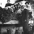 Public Market Vegetable Stand by Underwood Archives