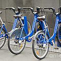 Public Shared Bicycles In Melbourne Australia by Jacek Malipan