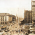 Public Square Cleveland Ohio 1912 by Unknown