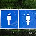 Public Toilet Sign by Tim Hester