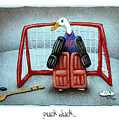 puck duck... by Will Bullas by Will Bullas