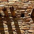 Pueblo Bonito Wall by Joe Kozlowski