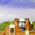 Pueblo Church Taos New Mexico by Rich Stedman