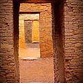 Pueblo Doorways by Inge Johnsson