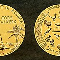 Pueblo Of Acoma Tribe Code Talkers Bronze Medal Art by Movie Poster Prints