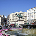 Puerta Del Sol In Madrid by Artur Bogacki