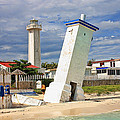 Puerto Morelos Lighthouses by Paul Williams