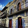 Puerto Rico - Old San Juan 002 by Lance Vaughn