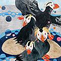 Puffins by Sherri Bails