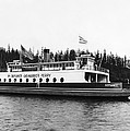 Puget Sound Ferry Boat by Underwood Archives