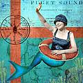Puget Sound Mermaid  by Sandy Lloyd