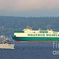 Puget Sound Shipping Waterway by Tap On Photo