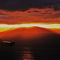 Puget Sound Sunset by Benjamin Yeager