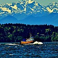 Puget Sound Tugboat by Benjamin Yeager