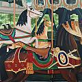 Pullen Park Carousel by Jill Ciccone Pike