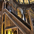Pulpit In The Aya Sofia Museum In Istanbul  by David Smith