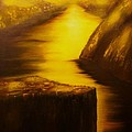 Pulpit Rock-preikestolen-original Sold-buy Giclee Print Nr 27 Of Limited Edition Of 40 Prints  by Eddie Michael Beck